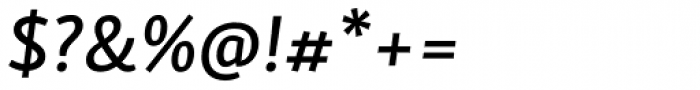 Skolar Sans Latn Medium Italic Font OTHER CHARS