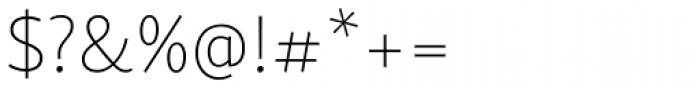 Skolar Sans Latn Thin Font OTHER CHARS