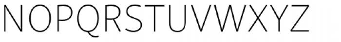 Skolar Sans Latn Thin Font UPPERCASE
