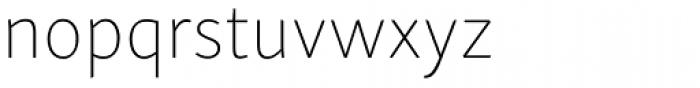 Skolar Sans Latn Thin Font LOWERCASE
