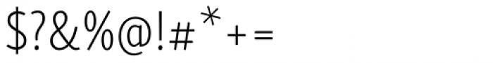 Skolar Sans PE Compressed ExtraLight Font OTHER CHARS