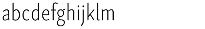 Skolar Sans PE Compressed ExtraLight Font LOWERCASE