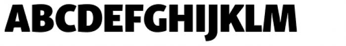 Skolar Sans PE Condensed Black Font UPPERCASE