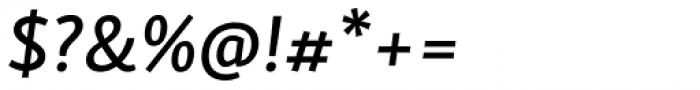Skolar Sans PE Medium Italic Font OTHER CHARS