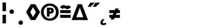 Skopex Gothic Black Expert Font OTHER CHARS