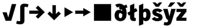 Skopex Gothic Black Expert Font LOWERCASE