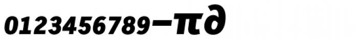 Skopex Gothic Black Italic Caps Expert Font LOWERCASE