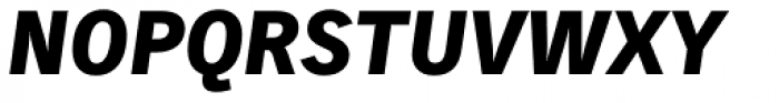 Skopex Gothic Black Italic Caps TF Font UPPERCASE