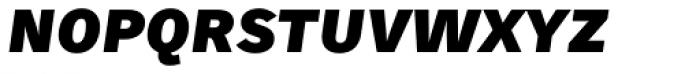 Skopex Gothic Black Italic Caps TF Font LOWERCASE
