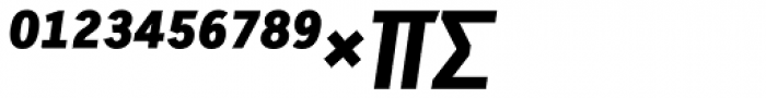 Skopex Gothic Black Italic Expert Font UPPERCASE