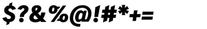 Skopex Gothic Black Italic TF Font OTHER CHARS