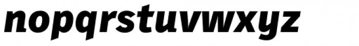 Skopex Gothic Black Italic Font LOWERCASE