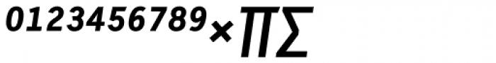 Skopex Gothic Bold Italic Caps Expert Font UPPERCASE