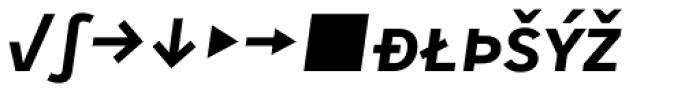 Skopex Gothic Bold Italic Caps Expert Font LOWERCASE