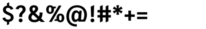 Skopex Gothic Bold TF Font OTHER CHARS