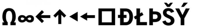 Skopex Gothic ExtraBold Caps Expert Font UPPERCASE