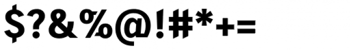 Skopex Gothic ExtraBold Caps TF Font OTHER CHARS