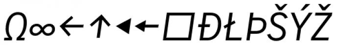 Skopex Gothic Italic Caps Expert Font UPPERCASE