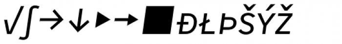 Skopex Gothic Italic Caps Expert Font LOWERCASE