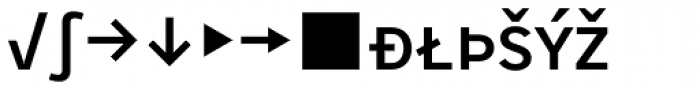 Skopex Gothic Med Caps Expert Font LOWERCASE