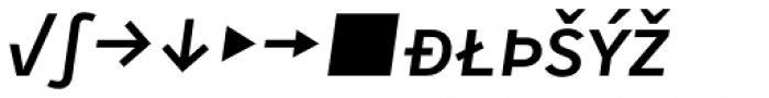 Skopex Gothic Med Italic Caps Expert Font LOWERCASE