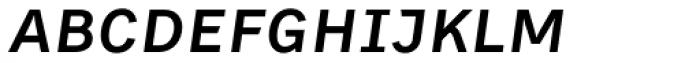 Skopex Gothic Med Italic Caps Font LOWERCASE