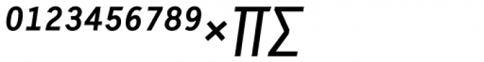 Skopex Gothic Med Italic Expert Font UPPERCASE