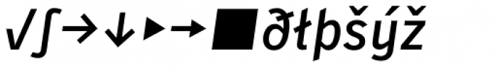 Skopex Gothic Med Italic Expert Font LOWERCASE