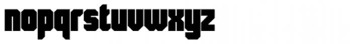Skorid Black Font LOWERCASE