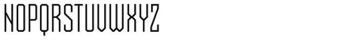 Skorid Light Font UPPERCASE