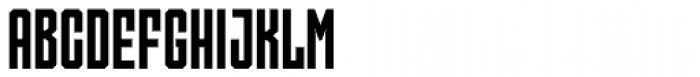 Skorid Medium Font UPPERCASE