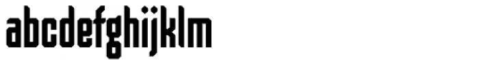 Skorid Medium Font LOWERCASE