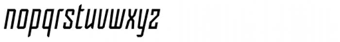 Skorid Regular Italic Font LOWERCASE