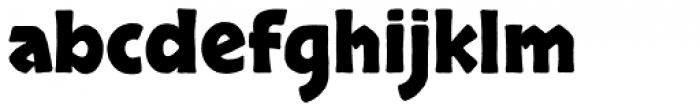 Skranji Bold Pro Font LOWERCASE