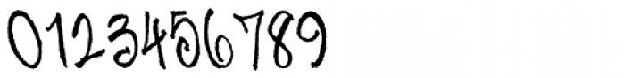 Skratchbook Back Italic Font OTHER CHARS