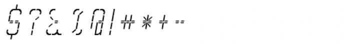 Skrean Italic Font OTHER CHARS