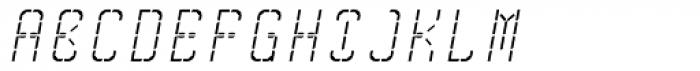 Skrean Italic Font UPPERCASE