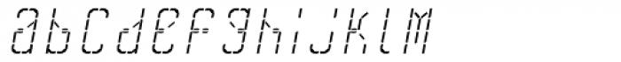 Skrean Italic Font LOWERCASE