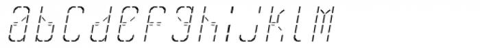 Skrean Light Italic Font LOWERCASE
