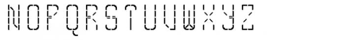Skrean Regular Font UPPERCASE