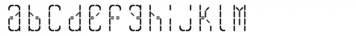 Skrean Regular Font LOWERCASE