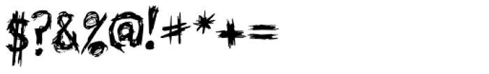 Skribler Font OTHER CHARS
