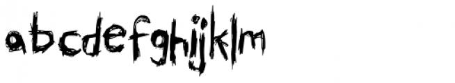 Skribler Font LOWERCASE