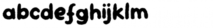 Skulderklap Font LOWERCASE