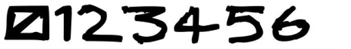 Skulebuk Heavy Font OTHER CHARS