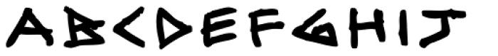 Skulebuk Heavy Font LOWERCASE
