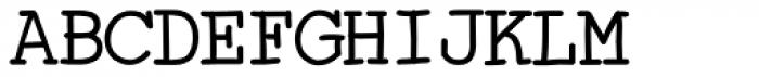 Skurier Bold Font UPPERCASE