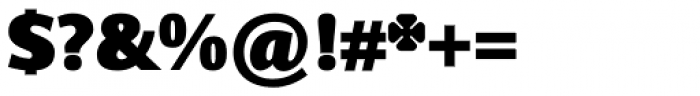 Sky Sans Black Font OTHER CHARS
