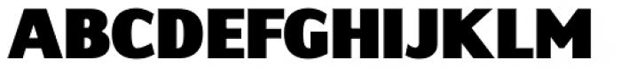 Sky Sans Black Font UPPERCASE