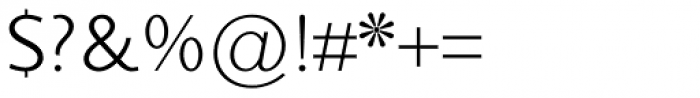 Sky Sans Book Font OTHER CHARS